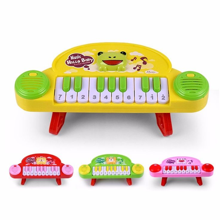 Baby Piano Toy Infant Developmental Toy Plastic Kids Animal Farm Musical Piano Early Educational Toy Music Instrument Kids Gifts