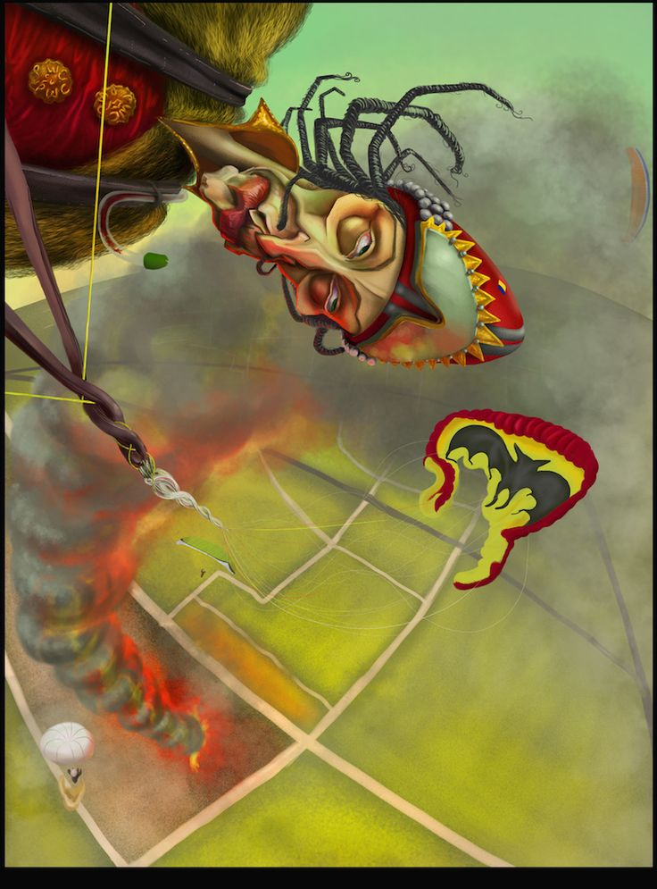 Vlad the Impaler. paragliding,  Colombia. Thermal fire.