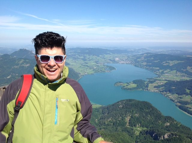 Hiking in Austria - Schafberg and Wolfgangsee