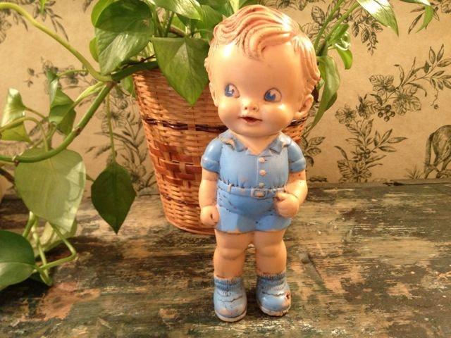 Ruth E. Newton Rubber Doll From The Sun Rubber Company.