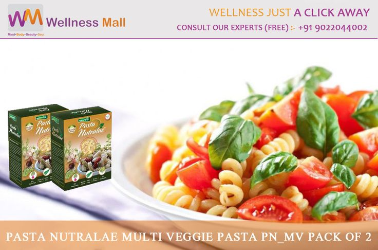 Pasta Nutralae Multi Veggie Pasta PN_MV Pack of 2- Wellness Mall Visit http://goo.gl/jQPxB7 Tel : 9022044002 Price : ₹360.00 Sold by: AAAAA Group SKU: PN-MV. Category: Ready To Cook