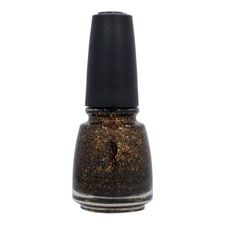 China Glaze Avant Garden Nail Polish, Bat My Eyes, 0.5 Oz