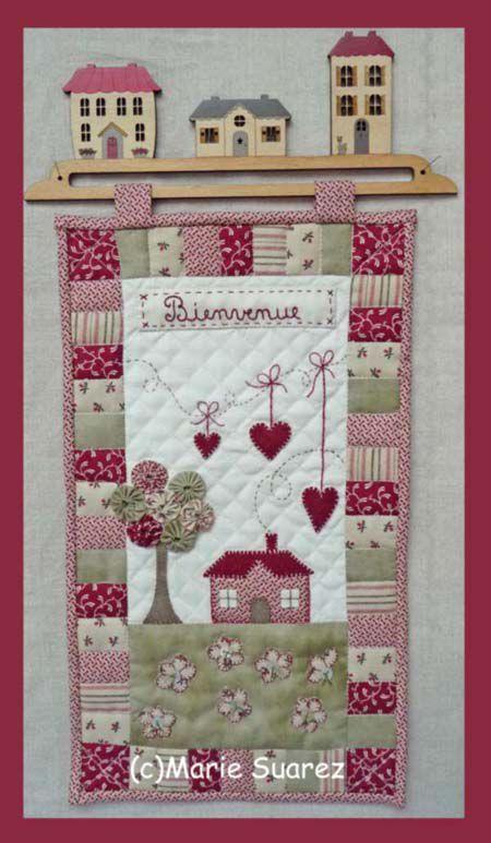 nouveaux mod les de patchwork le blog de marie suarez patchwork pinterest layout. Black Bedroom Furniture Sets. Home Design Ideas
