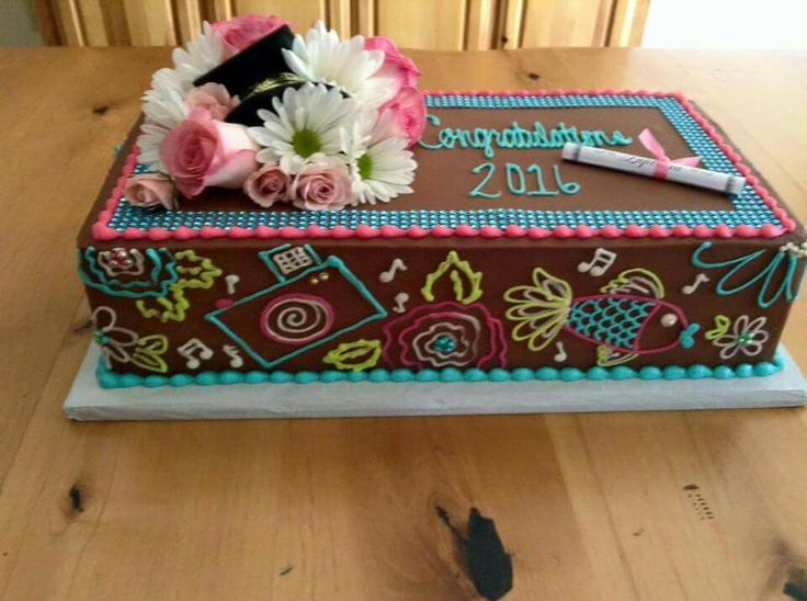 Graduation Cake, theme personal interests Cakes by Liss Pinterest - personal interests