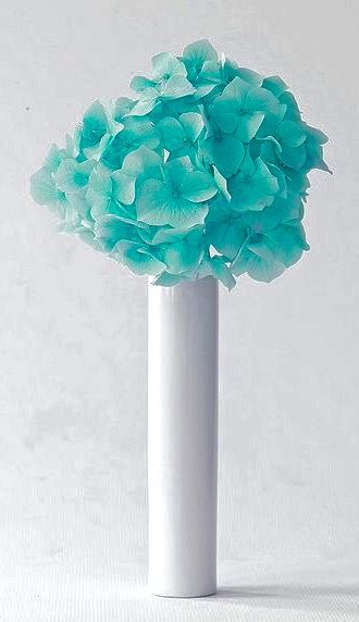 Tiffany Blue Flowers For A Wedding/ Idea For Bridesmaids Or For Table  Centerpieces At Reception