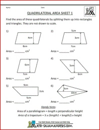Worksheets 6th Grade Geometry Worksheets 25 best ideas about geometry worksheets on pinterest shapes quadrilateral area worksheet fifth grade worksheet