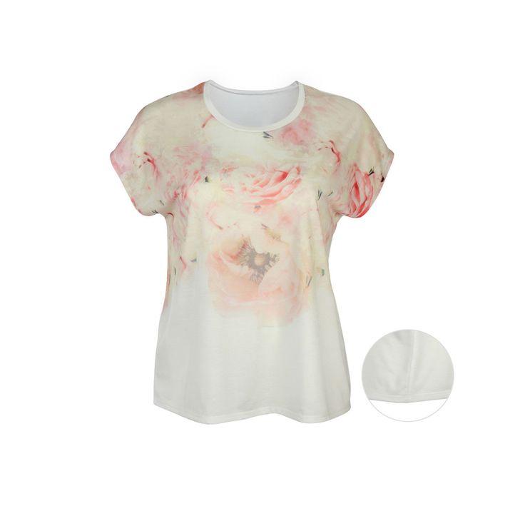 Damen-T-Shirt, große Größen