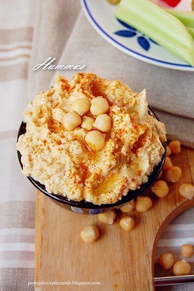 Pomysłowe Pieczenie: Hummus