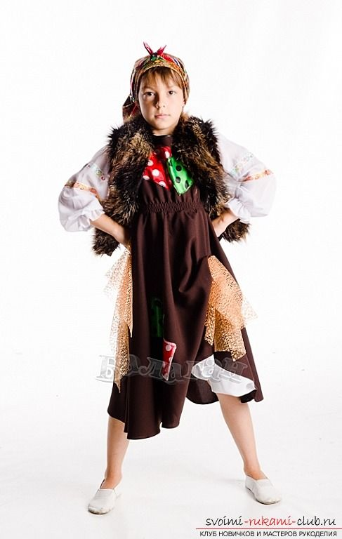 Сделать костюм бабы яги. Сказочные костюмы своими руками и фотографии.. Фото №1