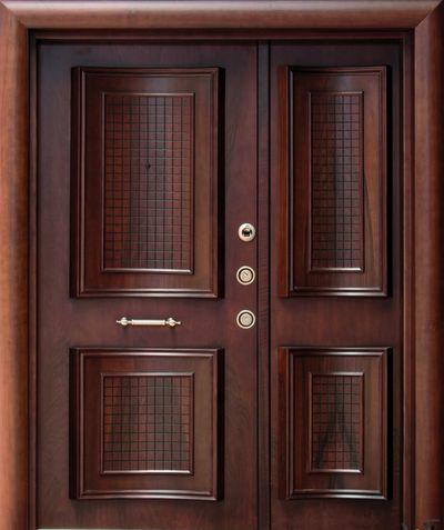 Mejores 14 im genes de puertas de madera contempor neas - Puertas de madera para entrada principal ...