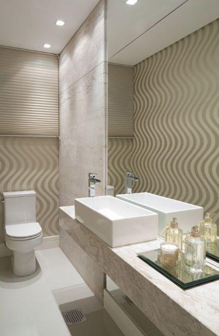 17+ ideias sobre Placas De Banheiro no Pinterest  Sala de banho, Dizeres de  -> Banheiro Pequeno Com Bancada De Granito