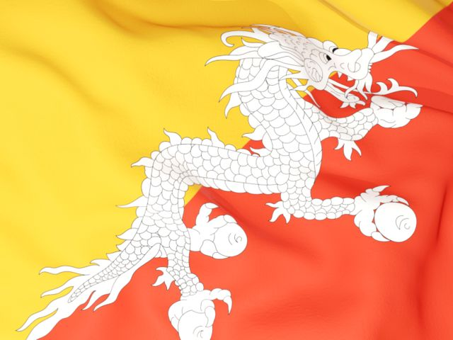 Flag background. Download flag icon of Bhutan at PNG format