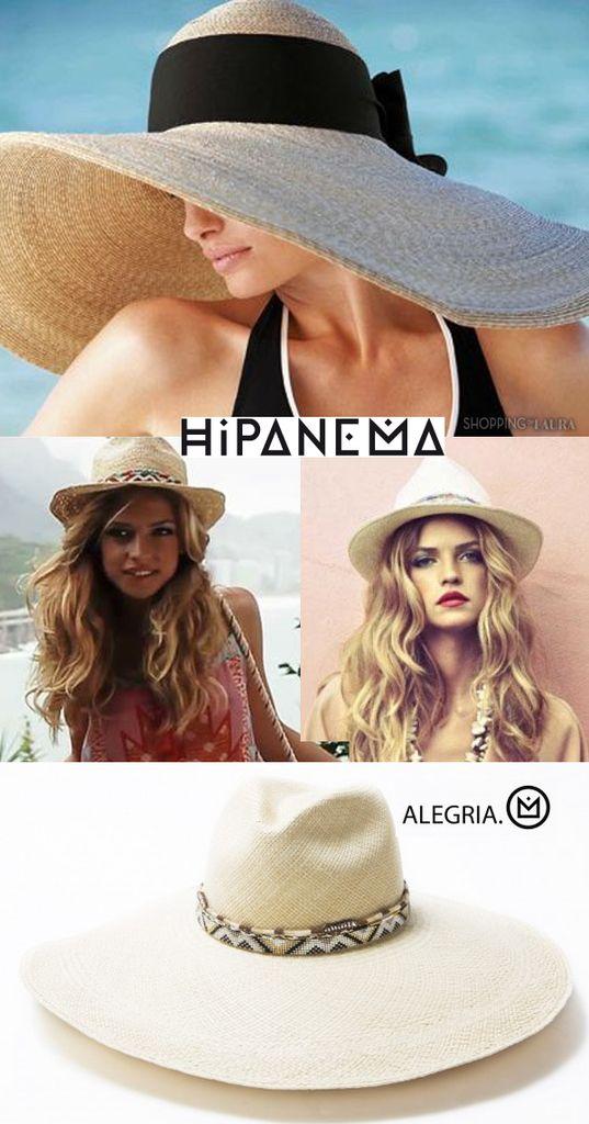 Hipanema : une marque sur laquelle je flash complètement. Exotique, tropicale et parfois même ethnique, elle sait faire preuve de raffinement avec de magnifiques créations...Le chapeau en paille tressée do Brazil revisité par Hipanema...ça vaut le détour !