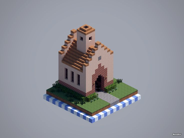 MCNoodlor: Brick - Church
