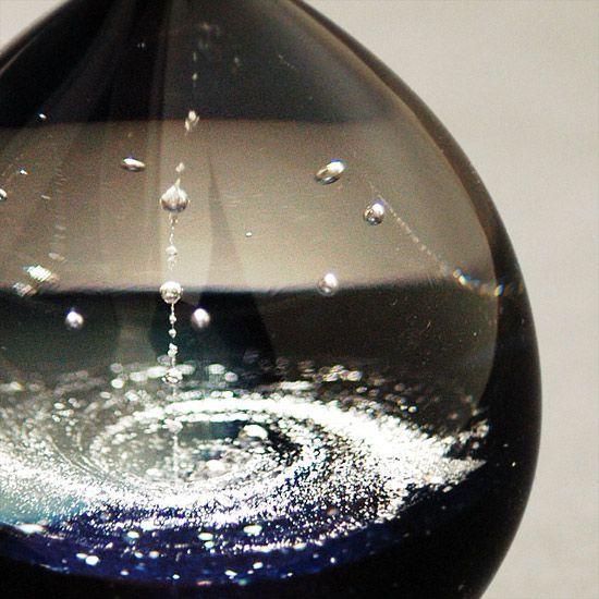 銀河の雫 中 - FUSION FACTORY|宇宙・天体|ガラス|販売|作家もの|ギフト|ジュエリー|アクセサリー|TVチャンピオン|送料無料|ガラスアーティスト