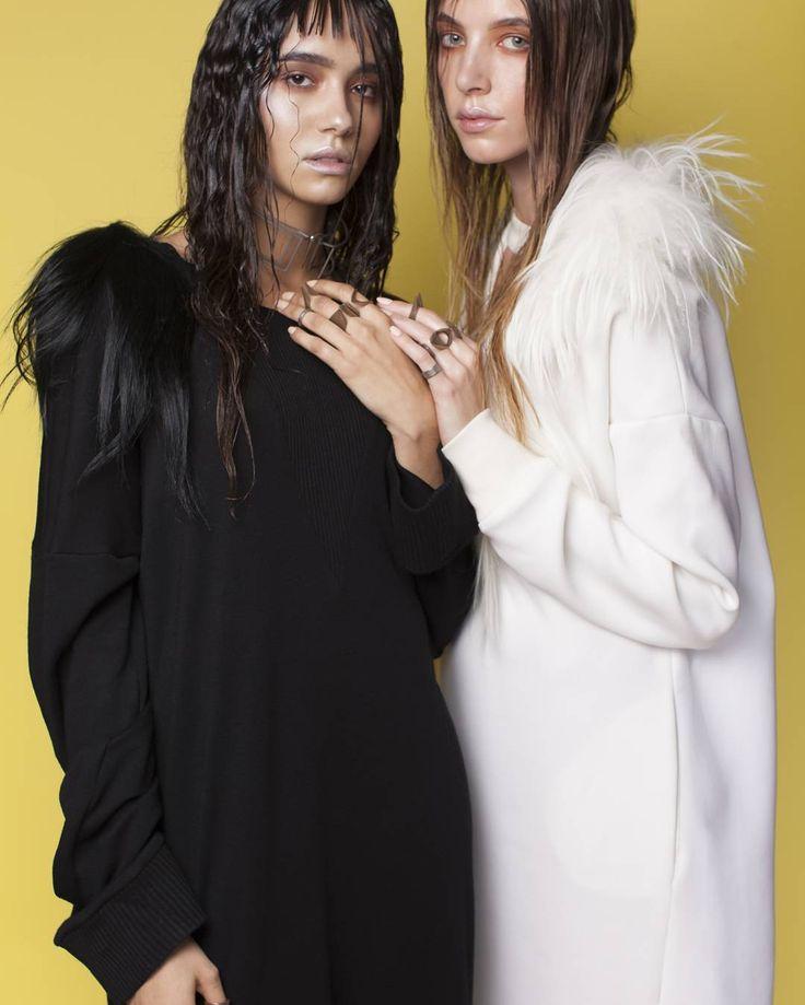 La  douce  méchante  photographer: @dkraag  model:Nadia  Armanda Frans and  Louise  Maria Benschop manicure: Madalina Toma Oxococo  Make Up BY Me  Design @fernandafernandes_eu #fashion #fashionphotography  #3Dprinting #style #jewelry #makeupartist #macsomestics #lauramercier #tushbrushes#muawesome #bestmakeupart #mua #houseoforangemakeupschool #design #fashion #makeupartist #metalics #brows #punk  #fashionista  #jelwery by dilsonduarte_mua