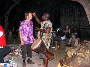 Mokoya Lodge | Drumming at the Boma