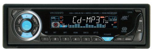 VR3 CD Player-MP3-WMA-RDS Car Stereo Receiver