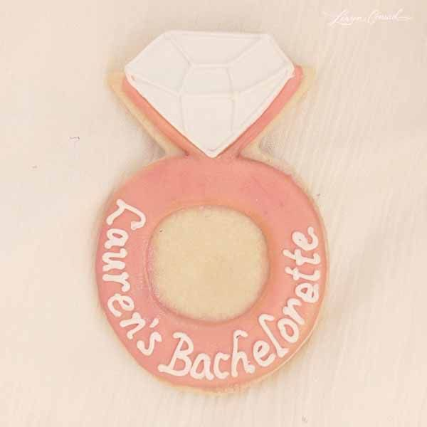 Cute Idea for Bachelorette Cookies {via Lauren Conrad}