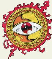 """The third of the Vishantis, Agamotto, created three eyes, one of Power, one of Truth and of Prescience. This artifact is actually the third of Agamotto's """"eyes"""", but is the one most commonly associated with the term. It was placed into the care of Eternity until a worthy mage could successfully reach him. Doctor Strange did so, and was given the Eye to battle Dormammu."""