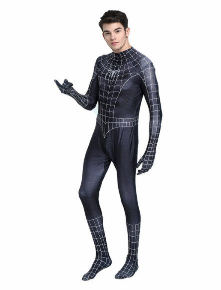 Spiderman Black Suit aka Symbiote Costume - ships fast from US/China #spiderman #cosplay
