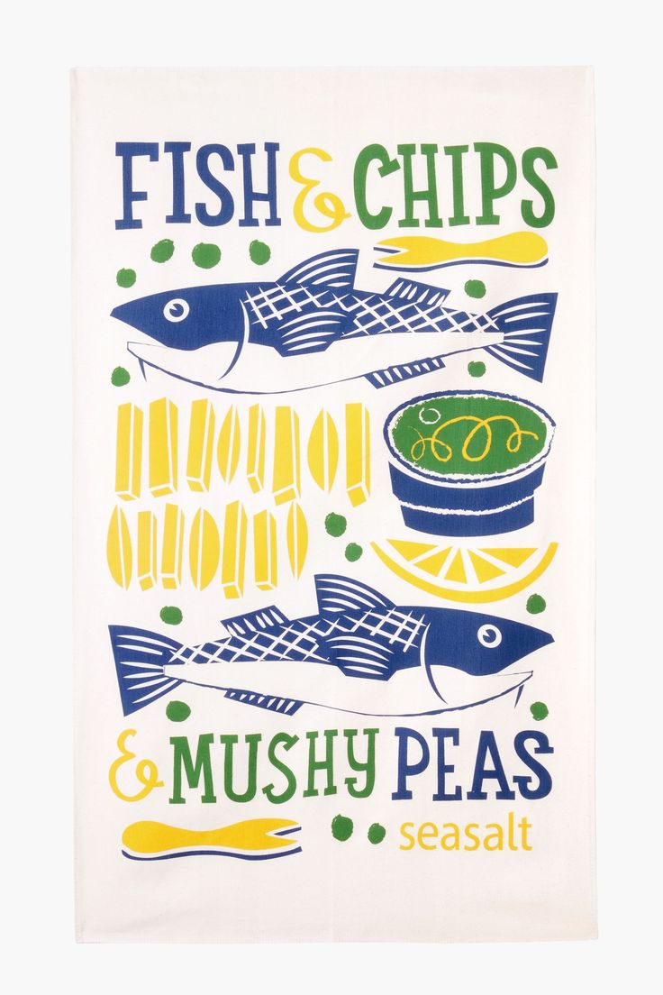Add a touch of Cornwall into your kitchen with our organic cotton tea towels.  Hand printed in Cornwall with quirky Seasalt designs  from our in-house...