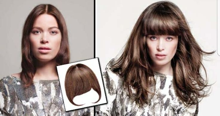 Clip in fringe, many options, human, synthetic, long, swept, side panels....
