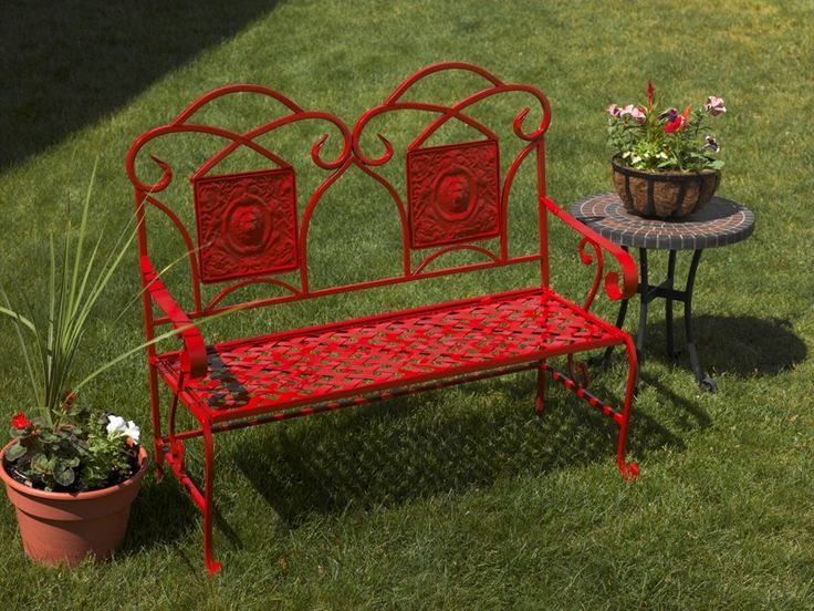 Your Outdoor Garden Will Be Budding With Personal Style After Refurbishing  A Rusted Metal Garden Bench
