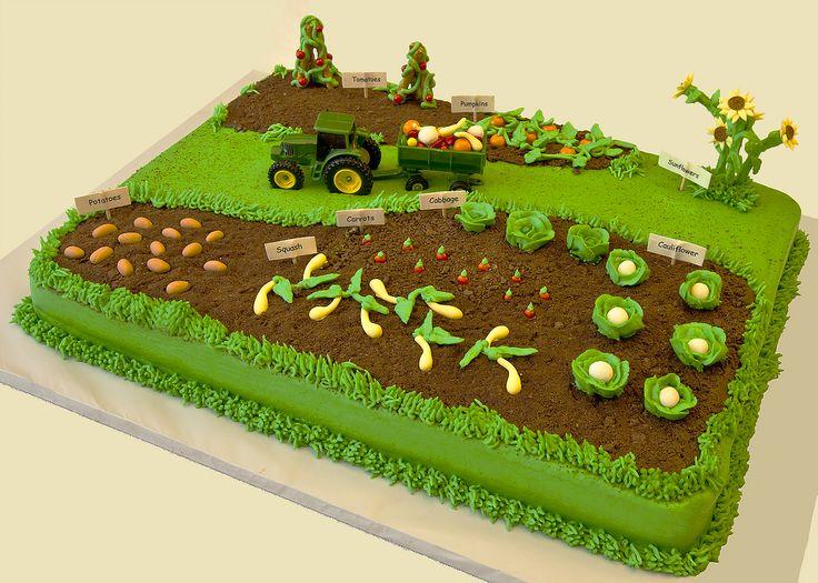 A farmer's garden cake~ SWEET!