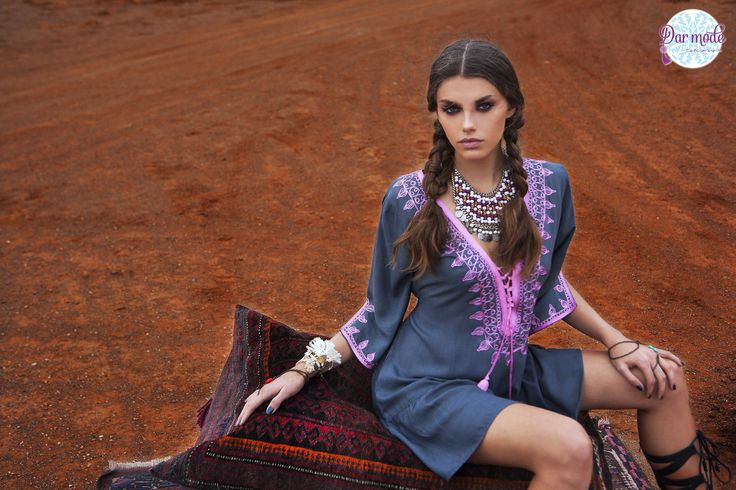 Tunic Kenza・Out of Africa lookbook
