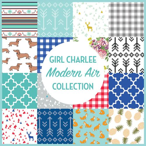 The Girl Charlee Fabrics Modern Air Fabric Collection Available Now   Knit fabrics