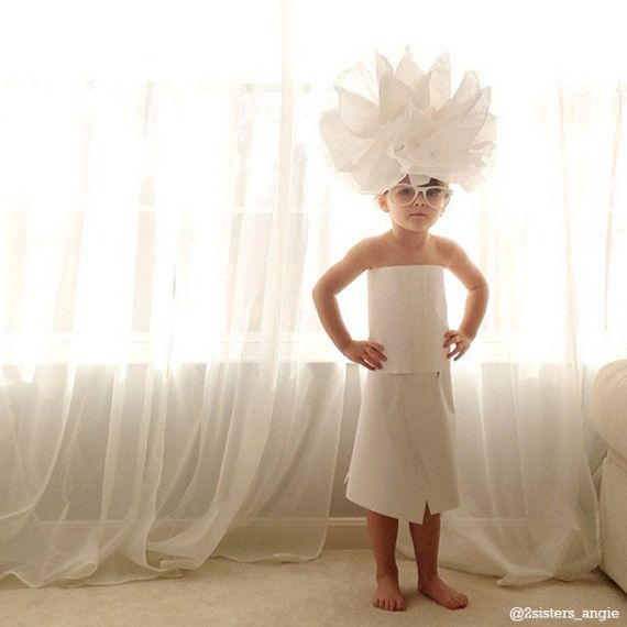 Love this story on HuffPost about little girl and her mama who make paper dresses that are amazing.