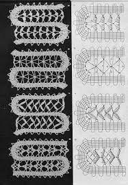 Resultado de imagem para crochet bruges lace patterns