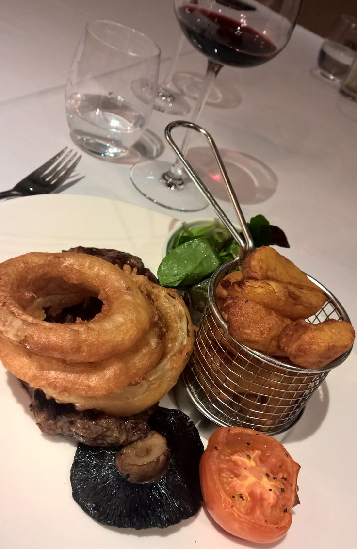 Steak. The Woodman Inn, Thunderbridge, Huddersfield.