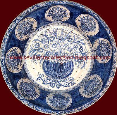 SEVILLARTE: La cerámica vidriada en Sevilla s.XVIII