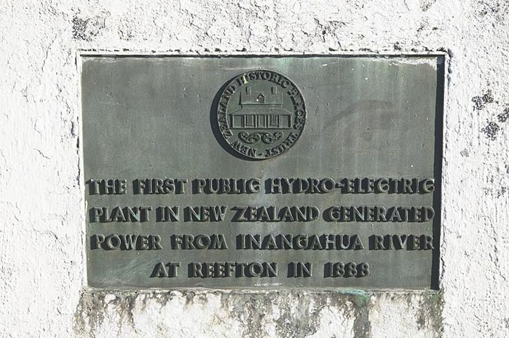 Reefton, the first town in NZ with electric power, see more, learn more, at New Zealand Journeys app for iPad www.gopix.co.nz