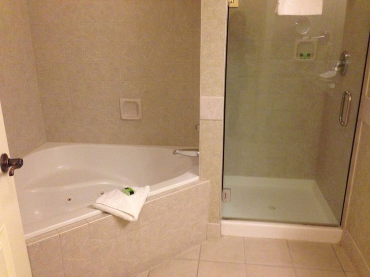 193 best images about great ideas for the home on - Corner bathtub shower combo small bathroom ...