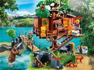 Playmobil Μεγάλο Δεντρόσπιτο (5557) - 71,99