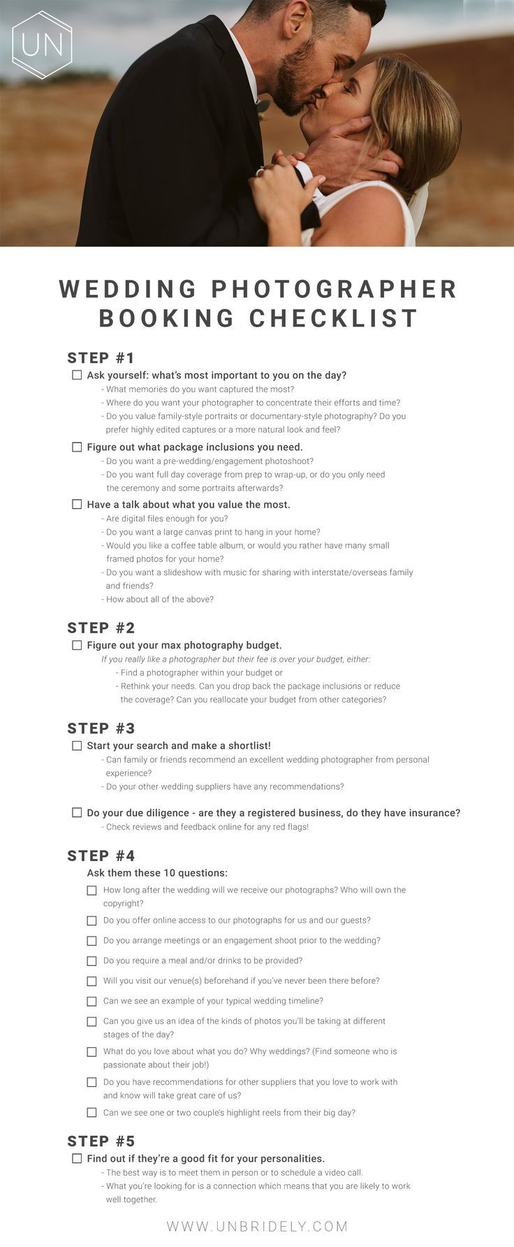 Questions To Ask A Wedding Photographer Unbridely In 2020 Wedding Photographer Questions This Or That Questions Wedding Photographers