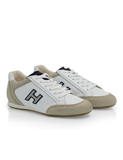 #HOGAN Junior's Spring - Summer 2013 #collection: leather OLYMPIA #sneakers.