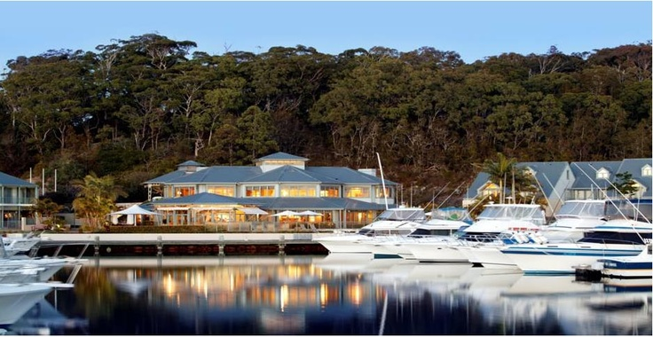 Anchorage Port Stephens, a beautiful and peaceful waterside confernece venue just a short drive from Newcastle airport. Lots of memorable Team Building and social activities in the area. ask us for more info or view the venue at www.sydneyhotelconferences.com/Resort-AnchoragePortStephens.htm