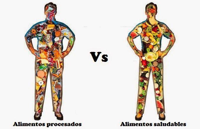 Alimentos saludables para la salud.