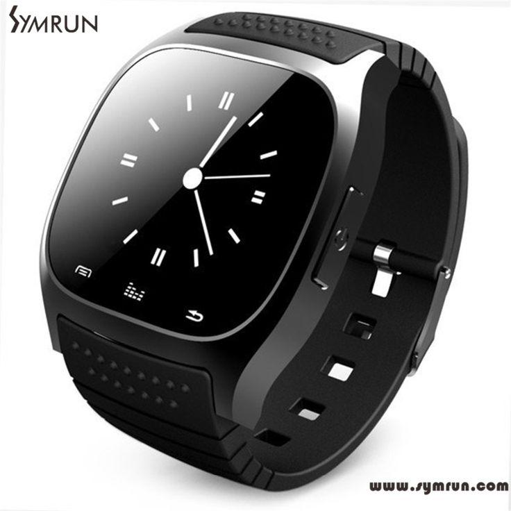 Symrun M26 Bluetooth Smart Watch Armbanduhr Mit Zifferblatt Sms Erinnern Fitness Tracker Smartwatch Für Smart Uhr Männer //Price: $US $29.98 & FREE Shipping //     #smartuhren