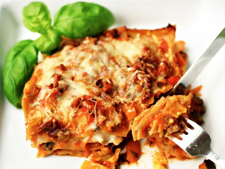 Grønnsak-lasagne