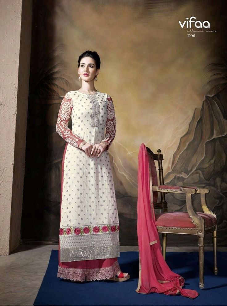 Lovely Designer Suit party wear semistitched poly Georgette Salwar Kameez -AMY