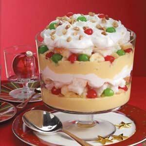 Eggnog Trifle Good Food