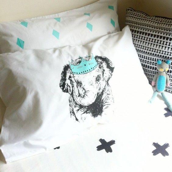 Burrow & Be - Collab Little Emperor Pillowcase