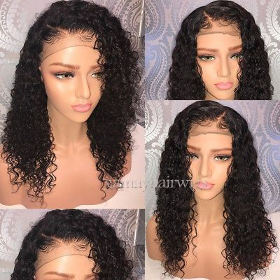 Glueless Virgin Human Hair Wigs Pre Plucked Full Lace Wigs Lace Front Wigs