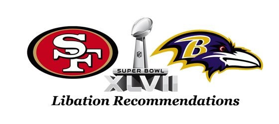 Thirsty Thursday: Super Bowl XLVII Libation Recommendations