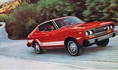 My 1st car, the datsun 710.